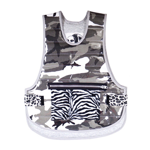 The bulletproof vest in black & white punkness • ¹/₁