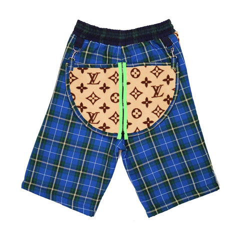 The LV diy bootleg shorts • ¹/₁
