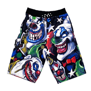 CLOWN FLEECE PHAT SHORTS