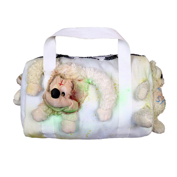 STITCHIN' PLUSHIES DUFFLE BAG