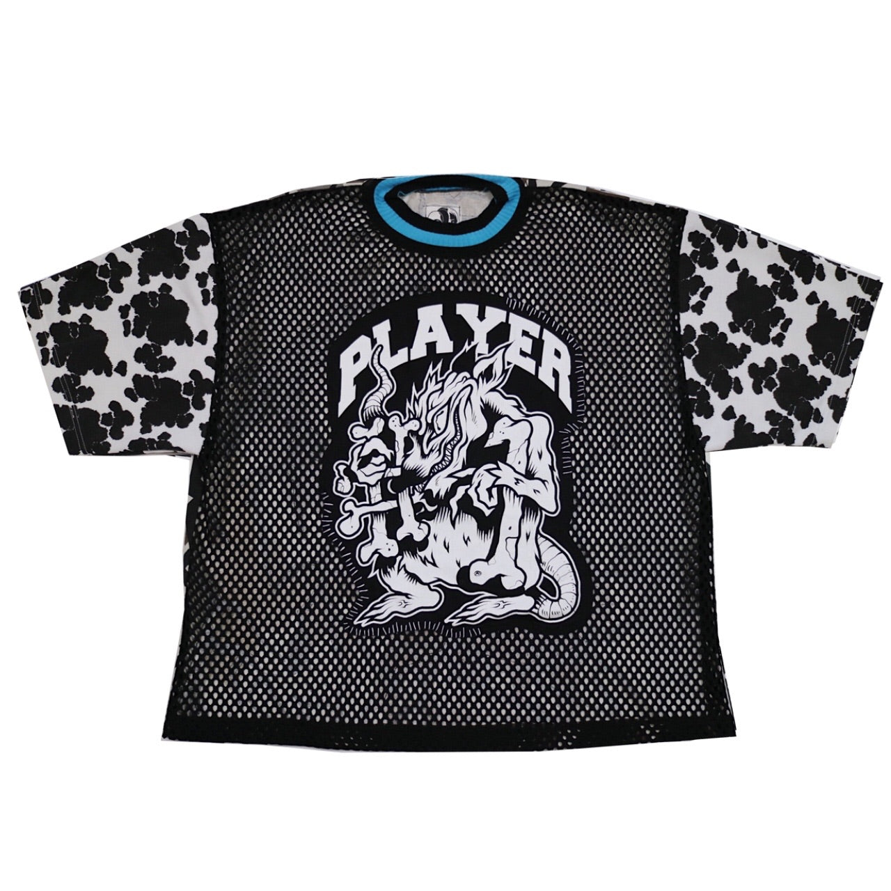player #1 mesh box tee