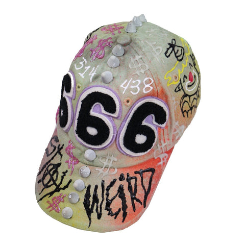 clowning around 666 hat