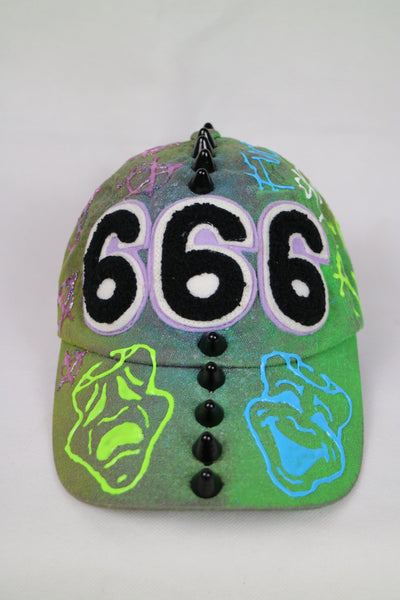 cry always 666 hat