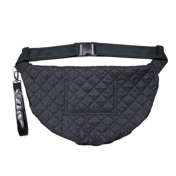 Dark flower xl fanny pack