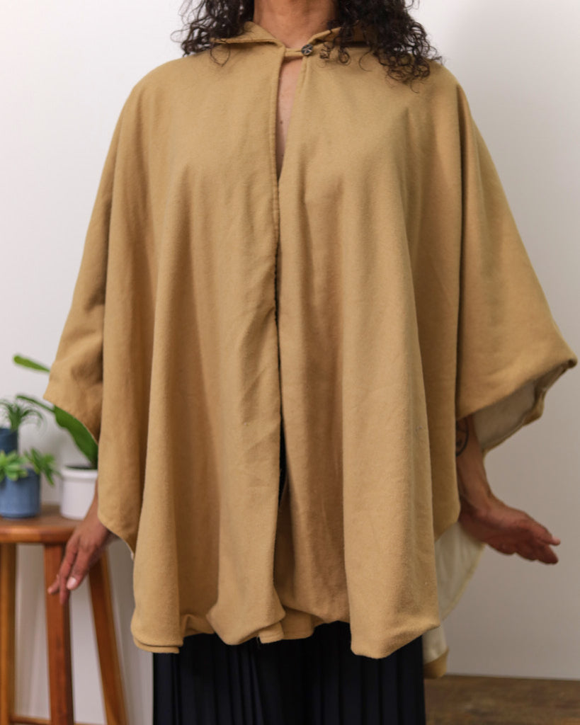 Reversible Woolen Cape
