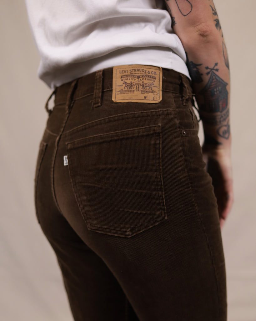 Levi's Brown Cord 517's