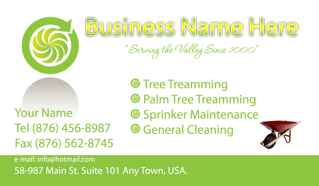 Gardening Business Cards 01