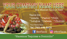 Load image into Gallery viewer, Tacos Business Card 01