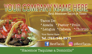 Tacos Business Card 01