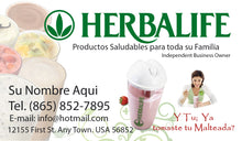Load image into Gallery viewer, Herbalife Business Card 01