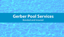 Load image into Gallery viewer, Pool Service Business Card 08
