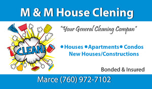 House Cleaning Business Cards 01