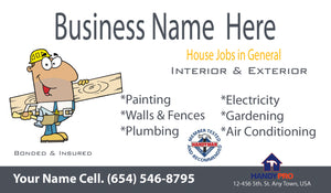 Handyman Business Cards 01