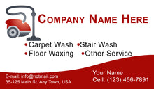 Load image into Gallery viewer, Carpet Cleaning Business Cards 01
