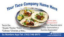 Load image into Gallery viewer, Tacos Business Card 02