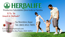 Load image into Gallery viewer, Herbalife Business Card 02