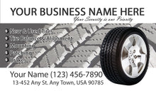 Load image into Gallery viewer, Tires and wheels Business Cards 02