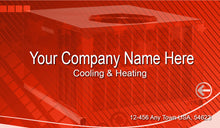 Load image into Gallery viewer, Air Conditioning Business Cards 02