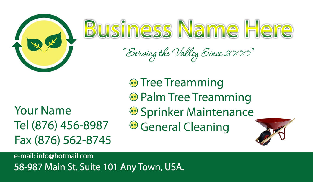 Gardening Business Cards 02