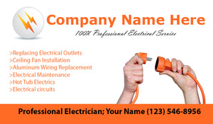 Electrician Business Cards 02