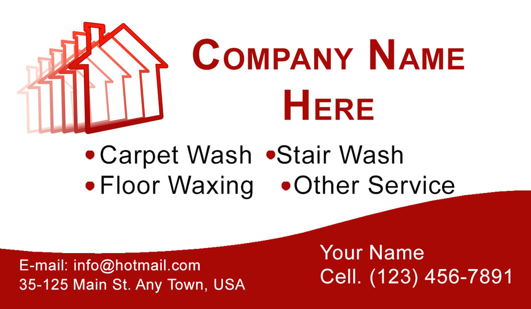 Carpet Cleaning Business Cards 02