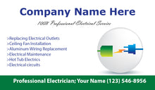 Load image into Gallery viewer, Electrician Business Cards 03
