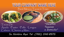 Load image into Gallery viewer, Tacos Business Card 03