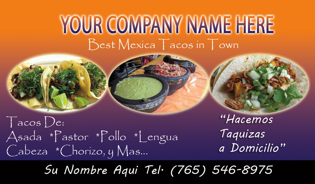 Tacos Business Card 03