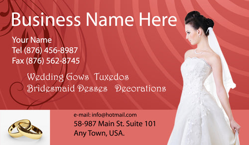 Bridal Shop Business Cards 03