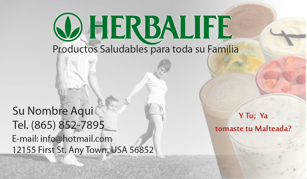 Herbalife Business Card 03