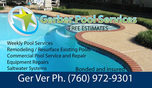 Pool Service Business Card 03