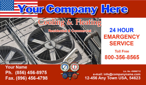 Air Conditioning Business Cards 03