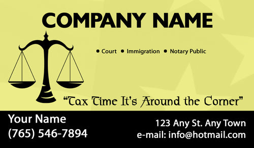 Tax Business Cards 03