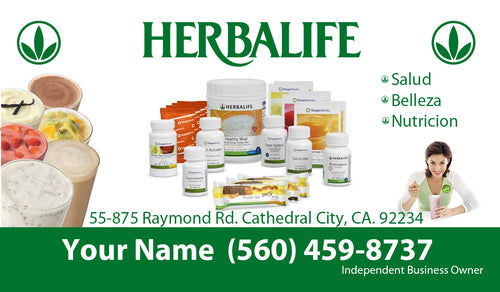 Herbalife Business Card 04