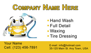 Car Wash Business Cards 04