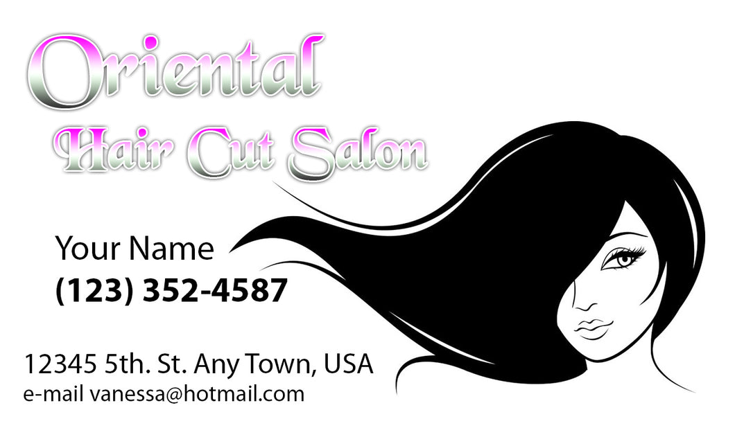 Beauty Shop Business Cards 04