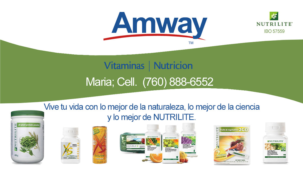 Amway Business Cards 04