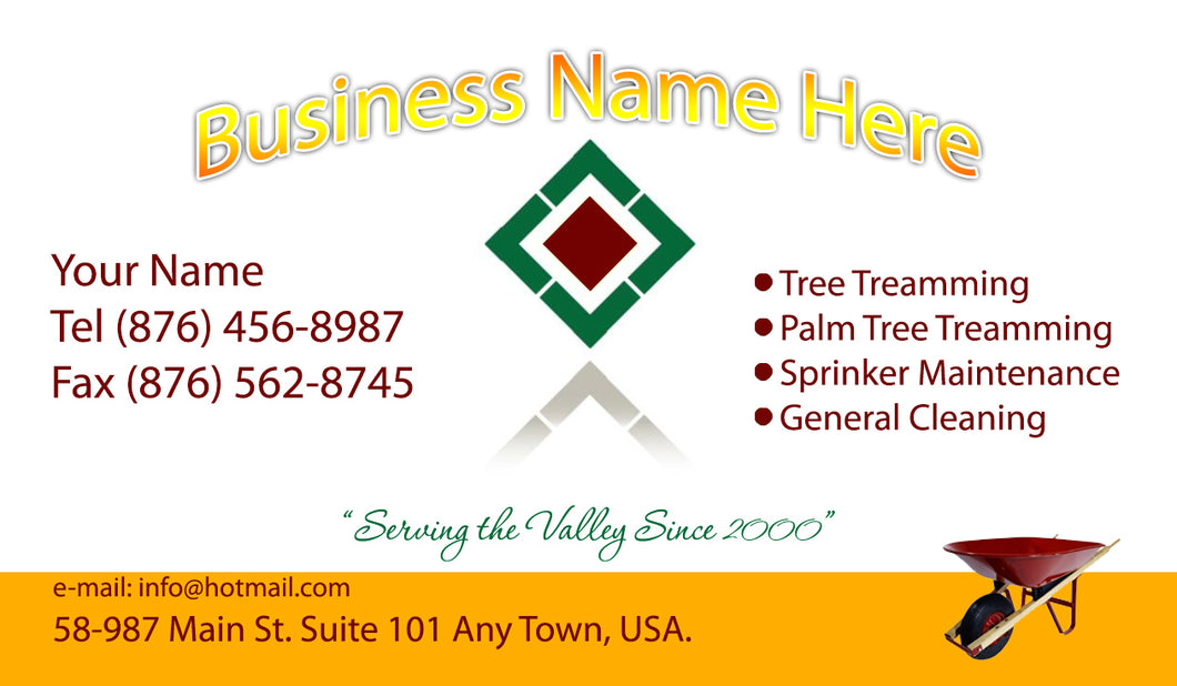Gardening Business Cards 04