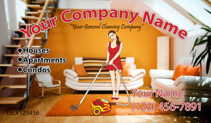 House Cleaning Business Cards 04