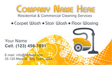 Load image into Gallery viewer, Carpet Cleaning Business Cards 04