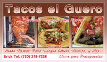 Load image into Gallery viewer, Tacos Business Card 05