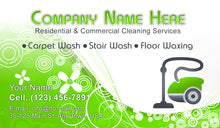 Load image into Gallery viewer, Carpet Cleaning Business Cards 05