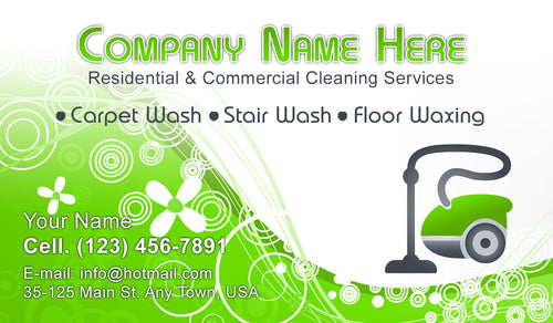 Carpet Cleaning Business Cards 05