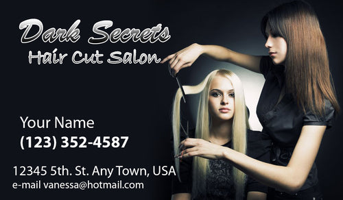 Beauty Shop Business Cards 05