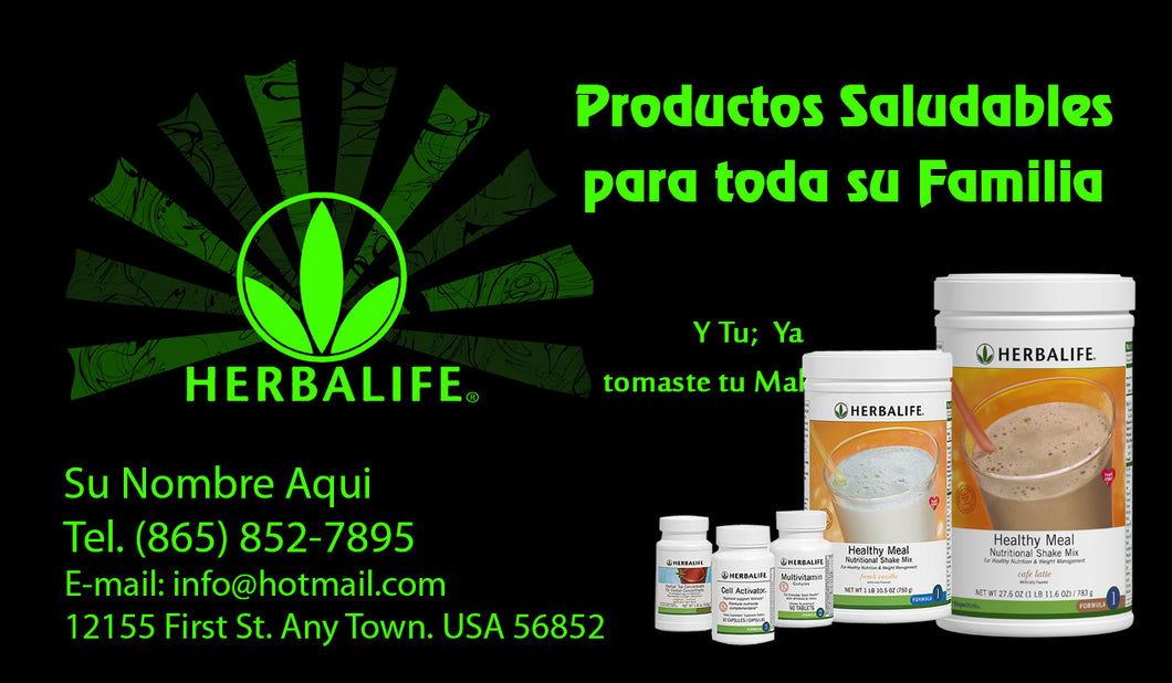 Herbalife Business Card 05