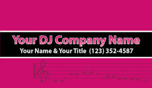Load image into Gallery viewer, Disc Jokey Business Cards 05