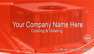Air Conditioning Business Cards 05