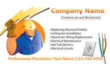Load image into Gallery viewer, Electrician Business Cards 05