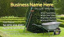 Load image into Gallery viewer, Gardening Business Cards 05