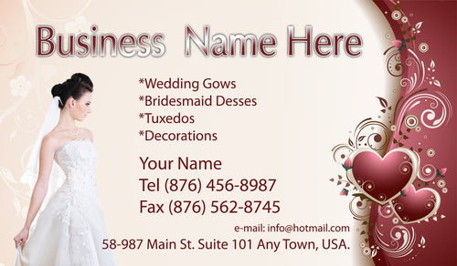 Bridal Shop Business Cards 06